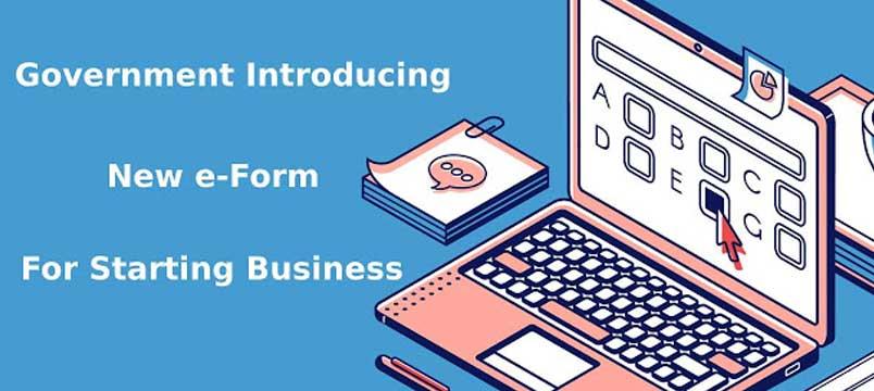 e-Form-for-Starting-Business